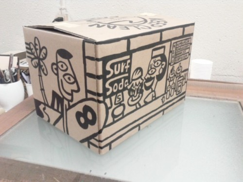 """cartoon box"""